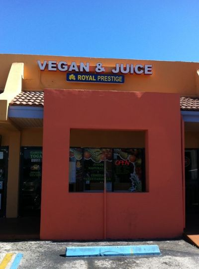 A photo of Vegan and Juice