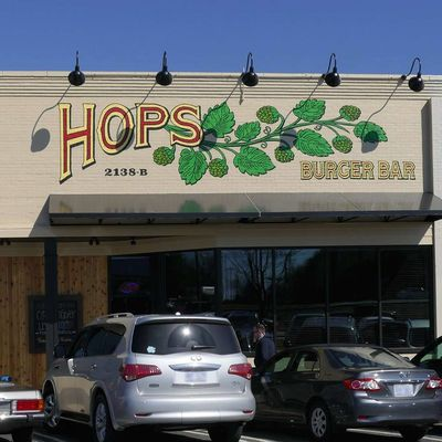A photo of Hops Burger Bar