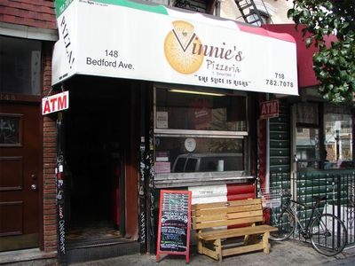 A photo of Vinnie's Pizzeria, Bedford Avenue