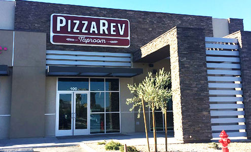 A photo of PizzaRev, Rancho Drive