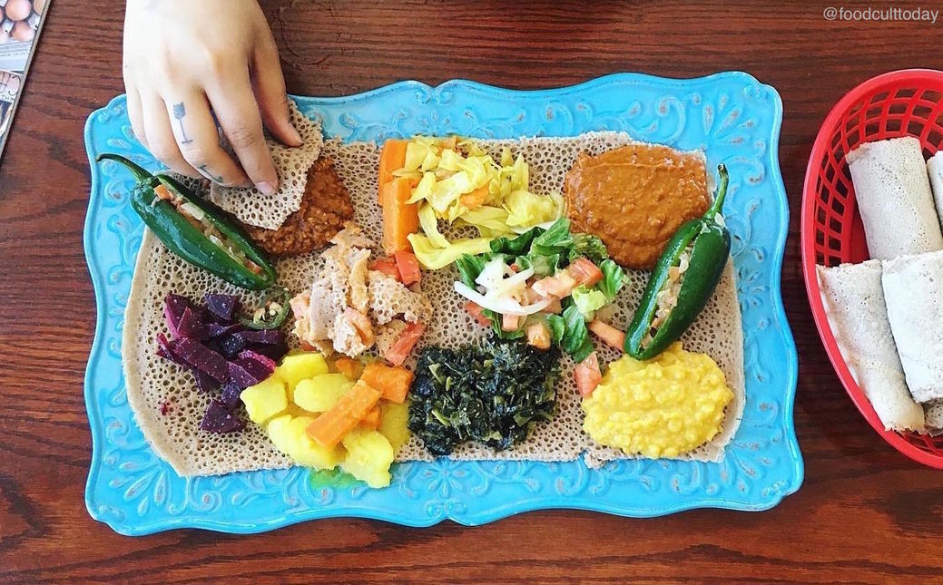 A photo of Amy's Ethiopian Restaurant