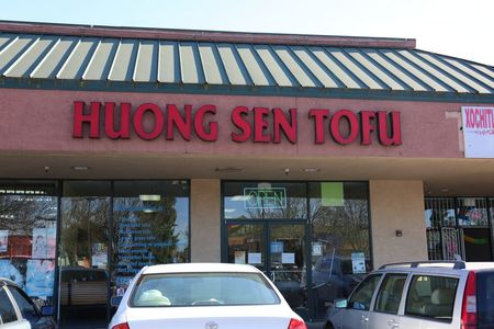 A photo of Huong Sen Tofu