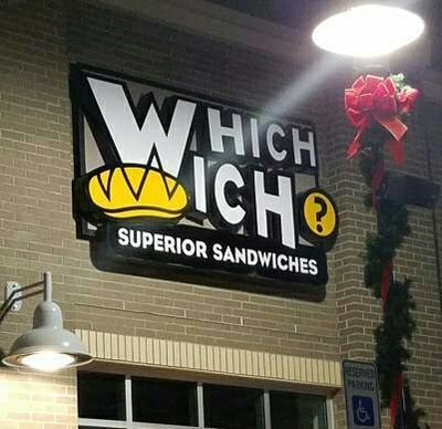 A photo of Which Wich, Cary