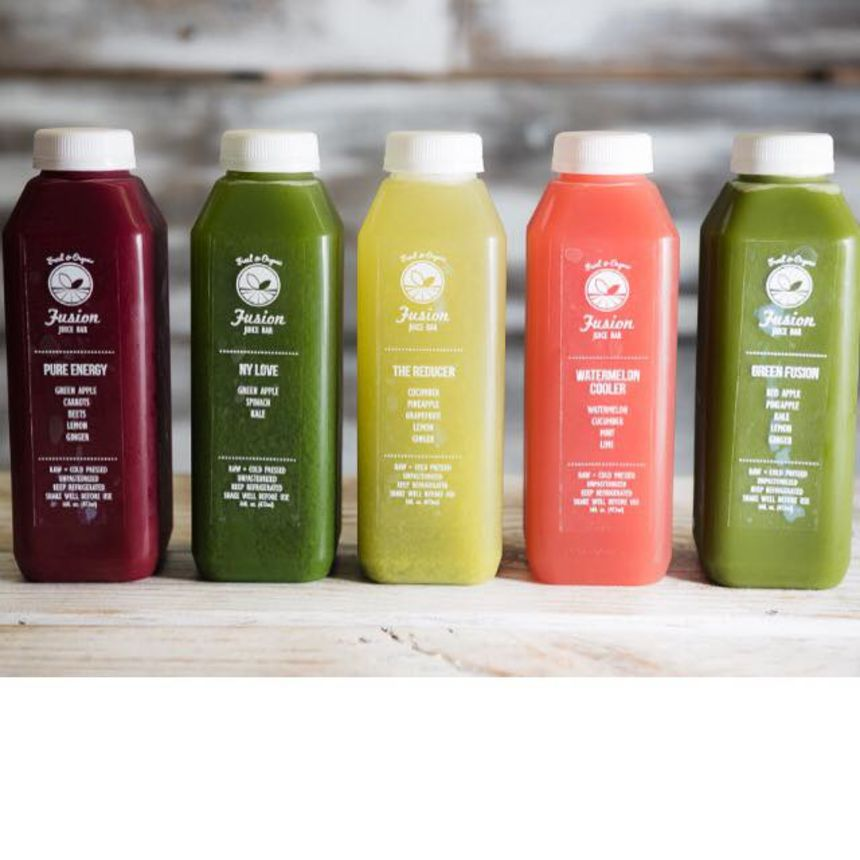 A photo of Fusion Juice Bar