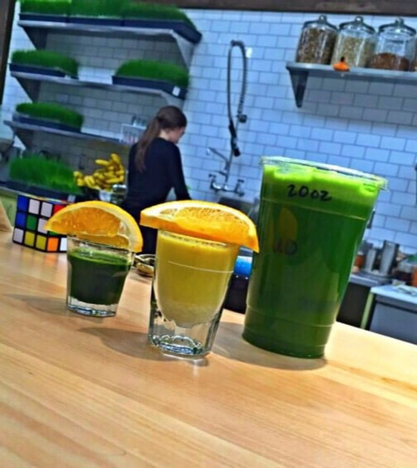 Raw Organic Juice Bar