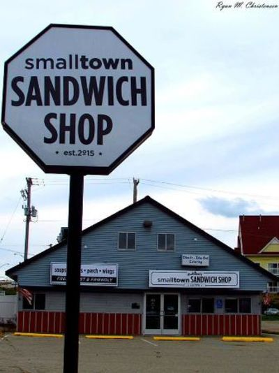A photo of Small Town Sandwich Shop