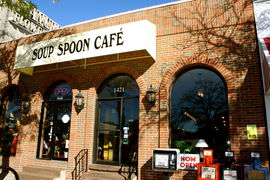 A photo of The Soup Spoon Café
