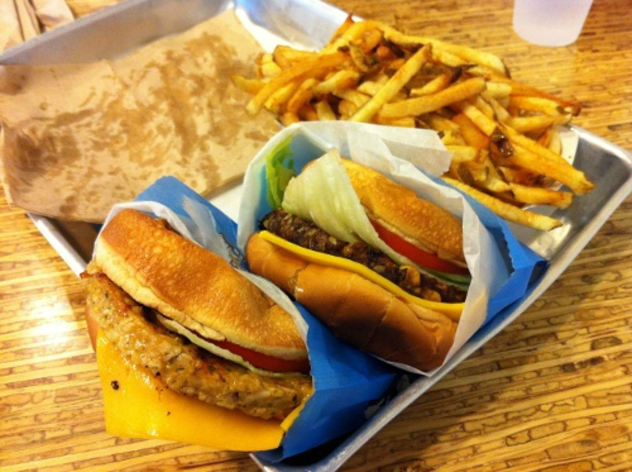 A photo of Elevation Burger