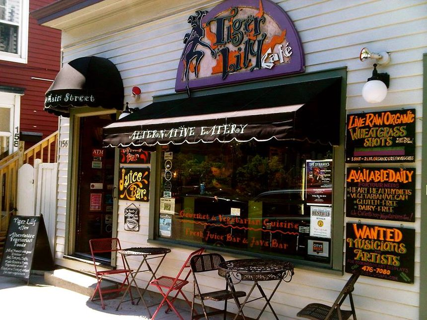 A photo of Tiger Lily Café