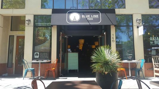 A photo of Blue Line Pizza