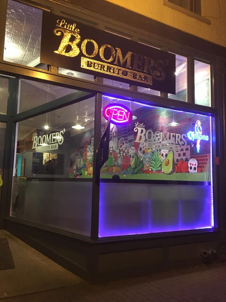 A photo of Little Boomers' Burrito Bar