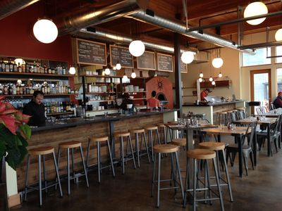 A photo of Solstice Wood Fire Cafe & Bar