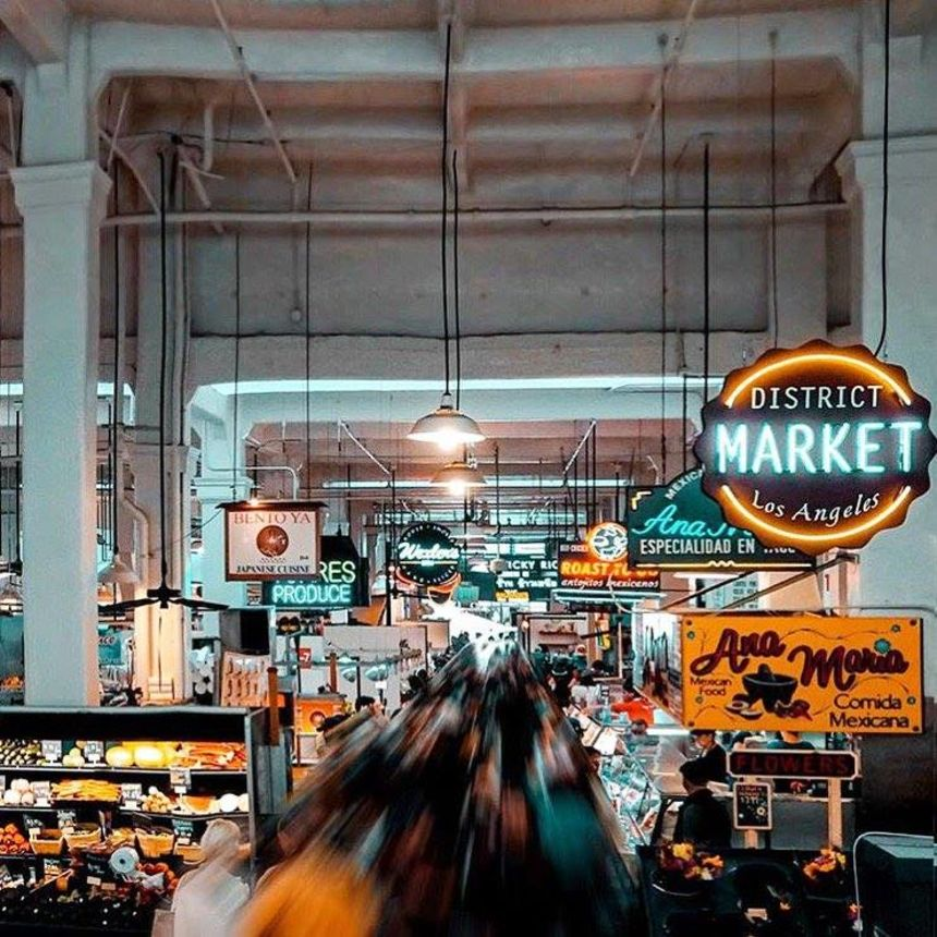 A photo of Grand Central Market