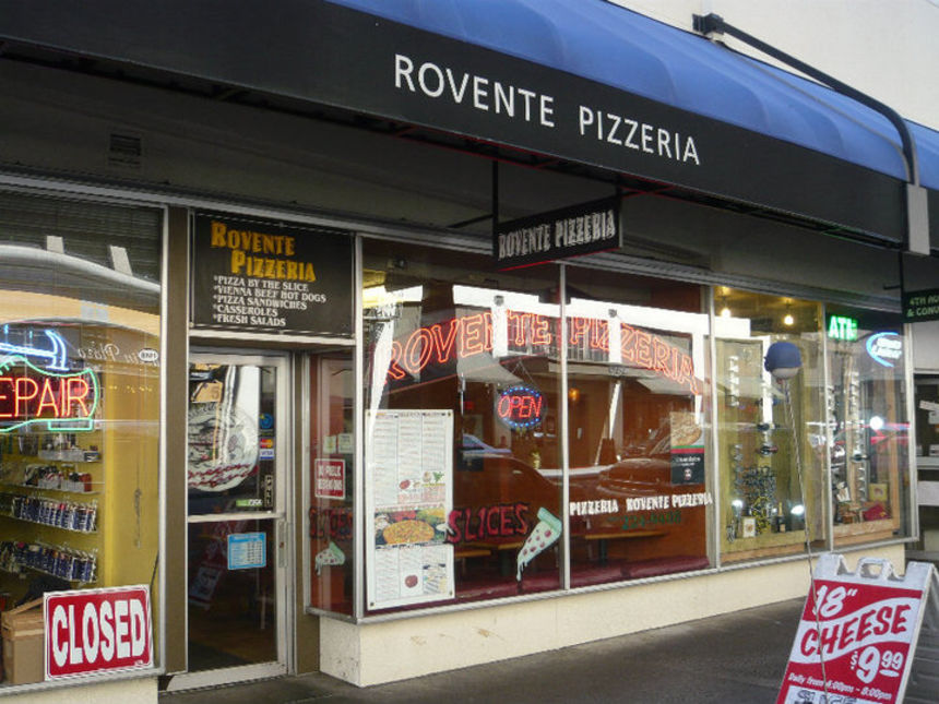 Rovente Pizzeria, Downtown