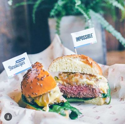 A photo of Bareburger, 366 West 46th Street
