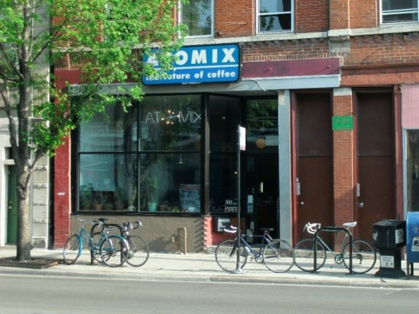 A photo of Atomix Cafe
