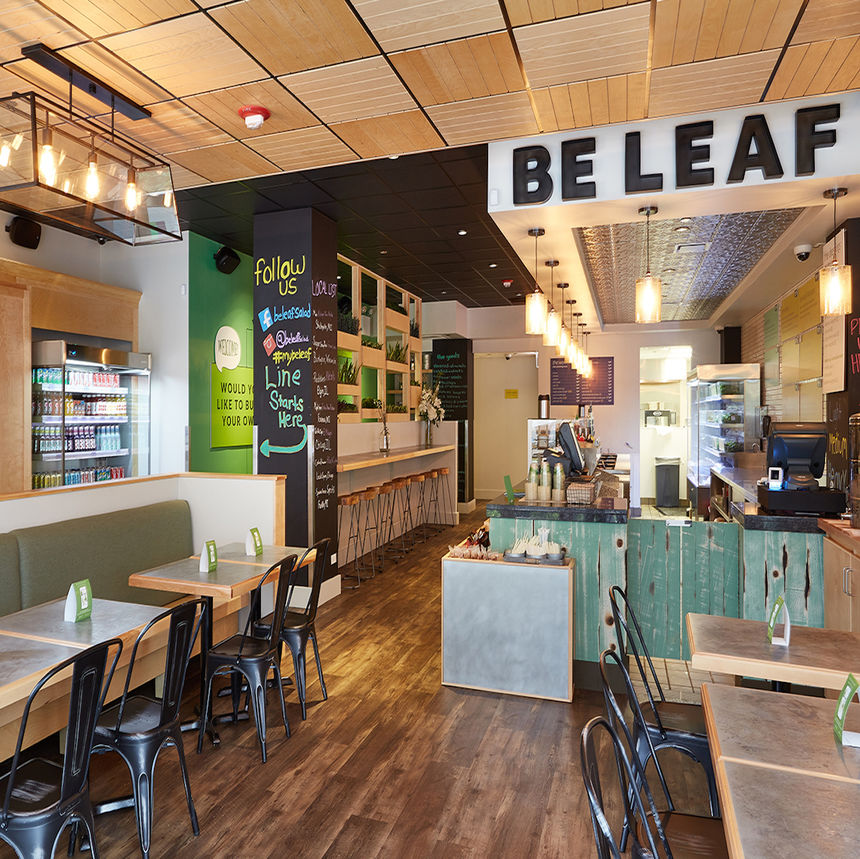 A photo of Be Leaf