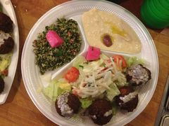 A photo of Main Street Falafel
