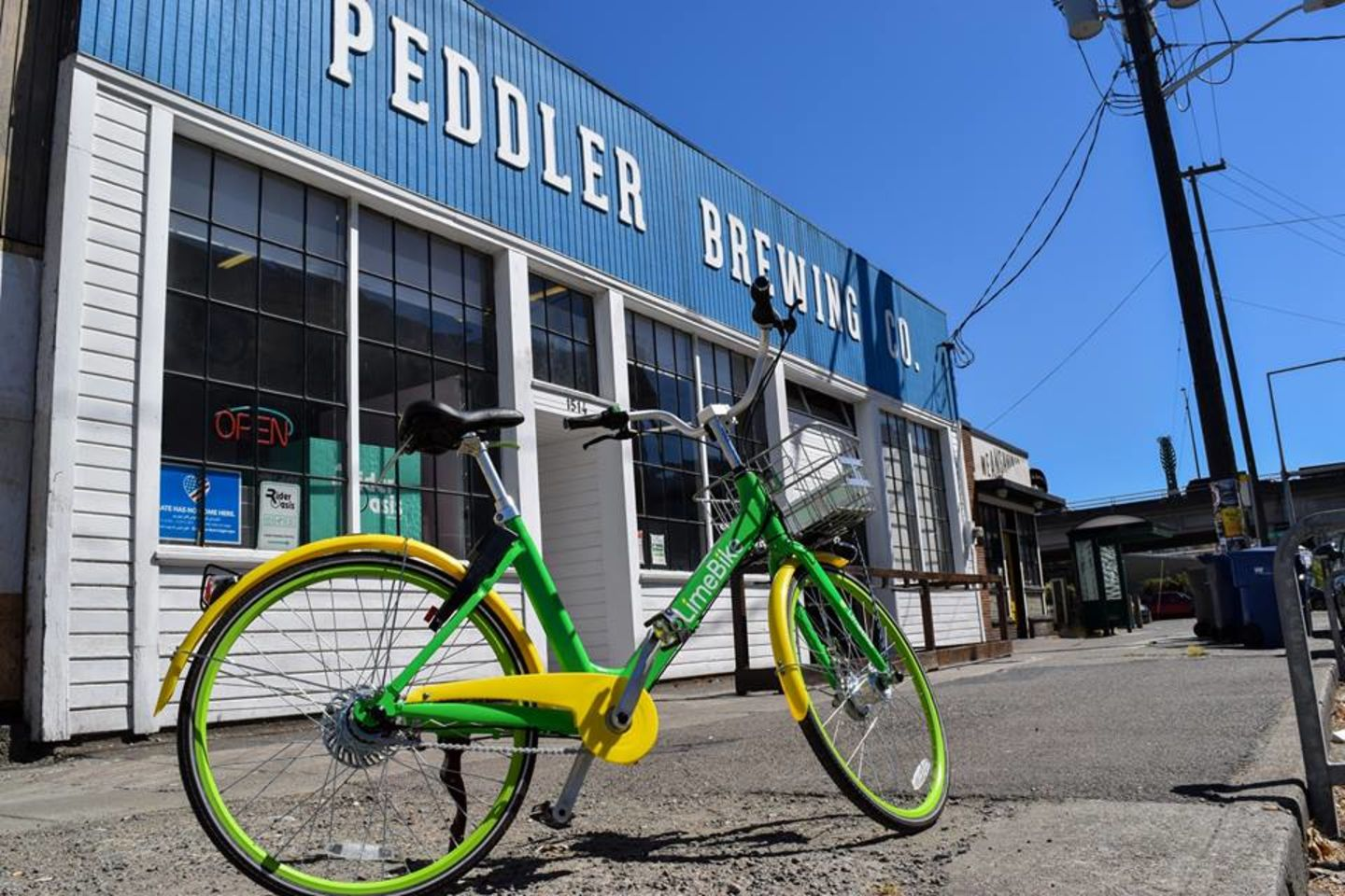 A photo of Peddler Brewing Company