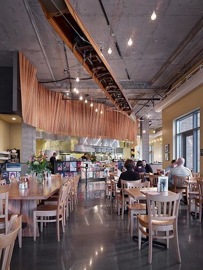 A photo of Portage Bay Café