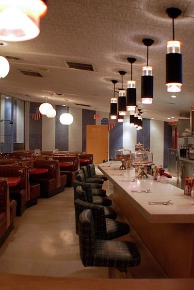 A photo of Swingers Diner, Santa Monica