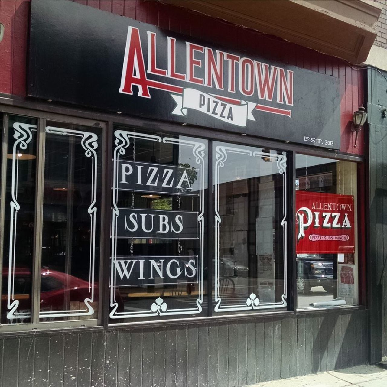 A photo of Allentown Pizza