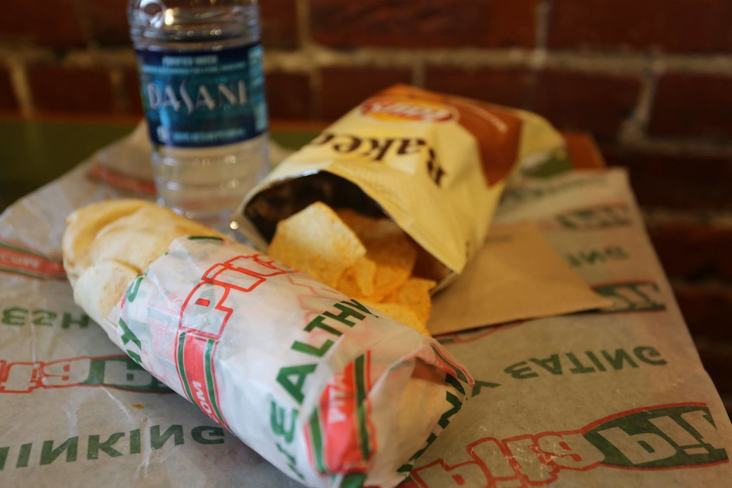 A photo of Pita Pit, Grand Ave