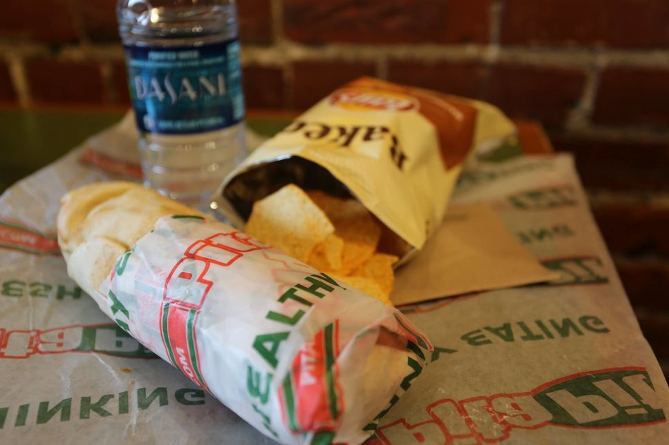 A photo of Pita Pit, West Forsyth St