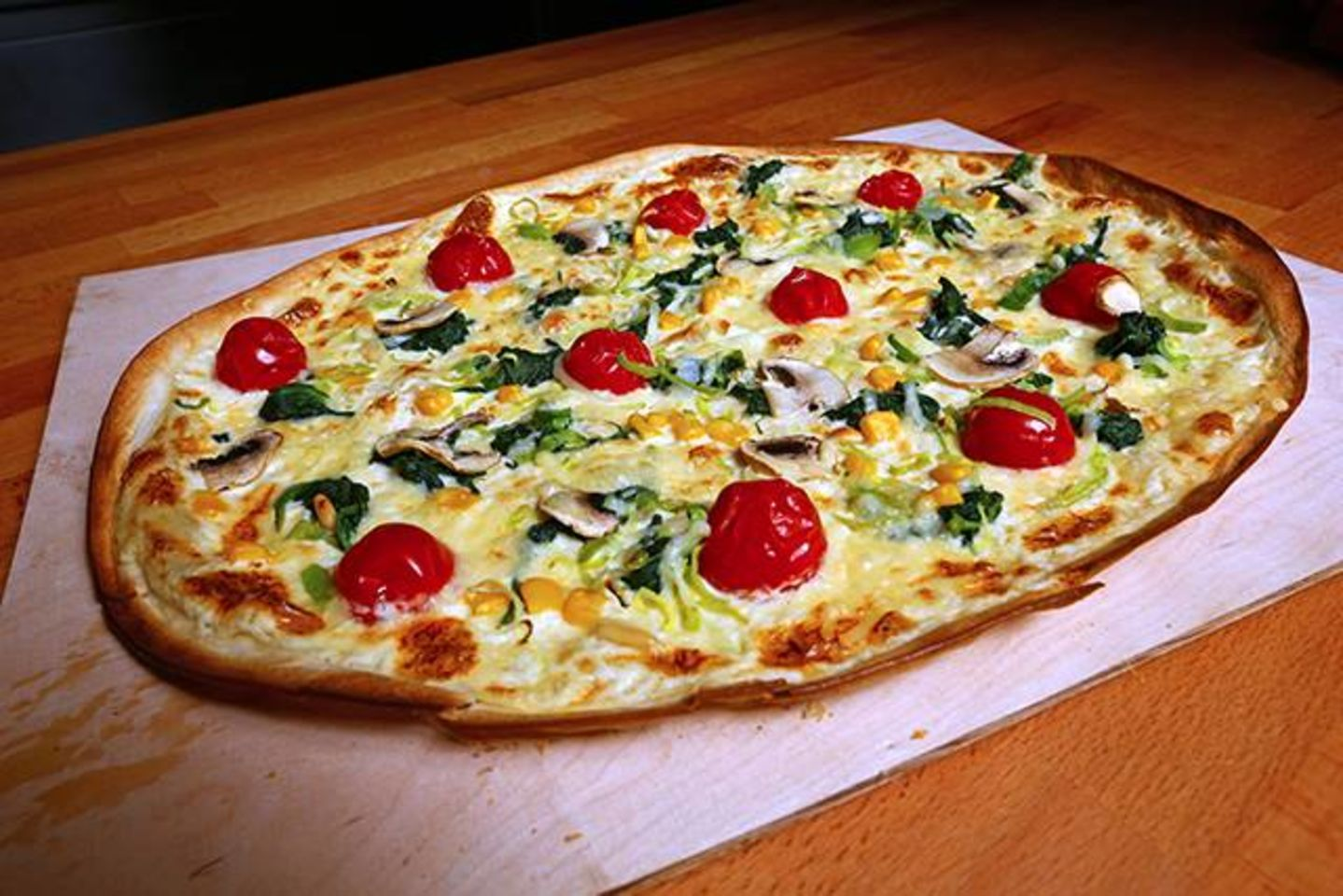 A photo of Marianne's Flammkuchen