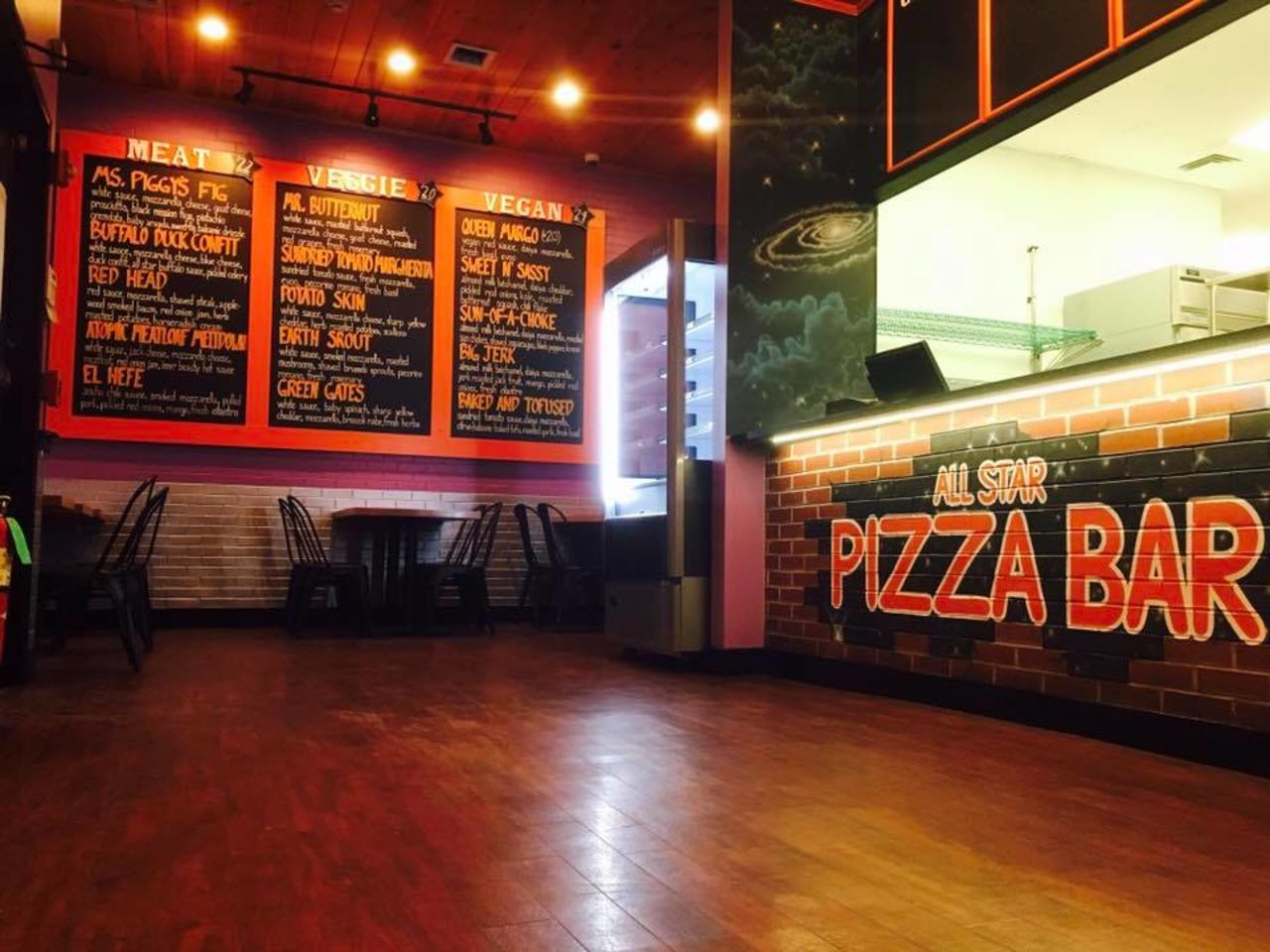 A photo of All Star Pizza Bar