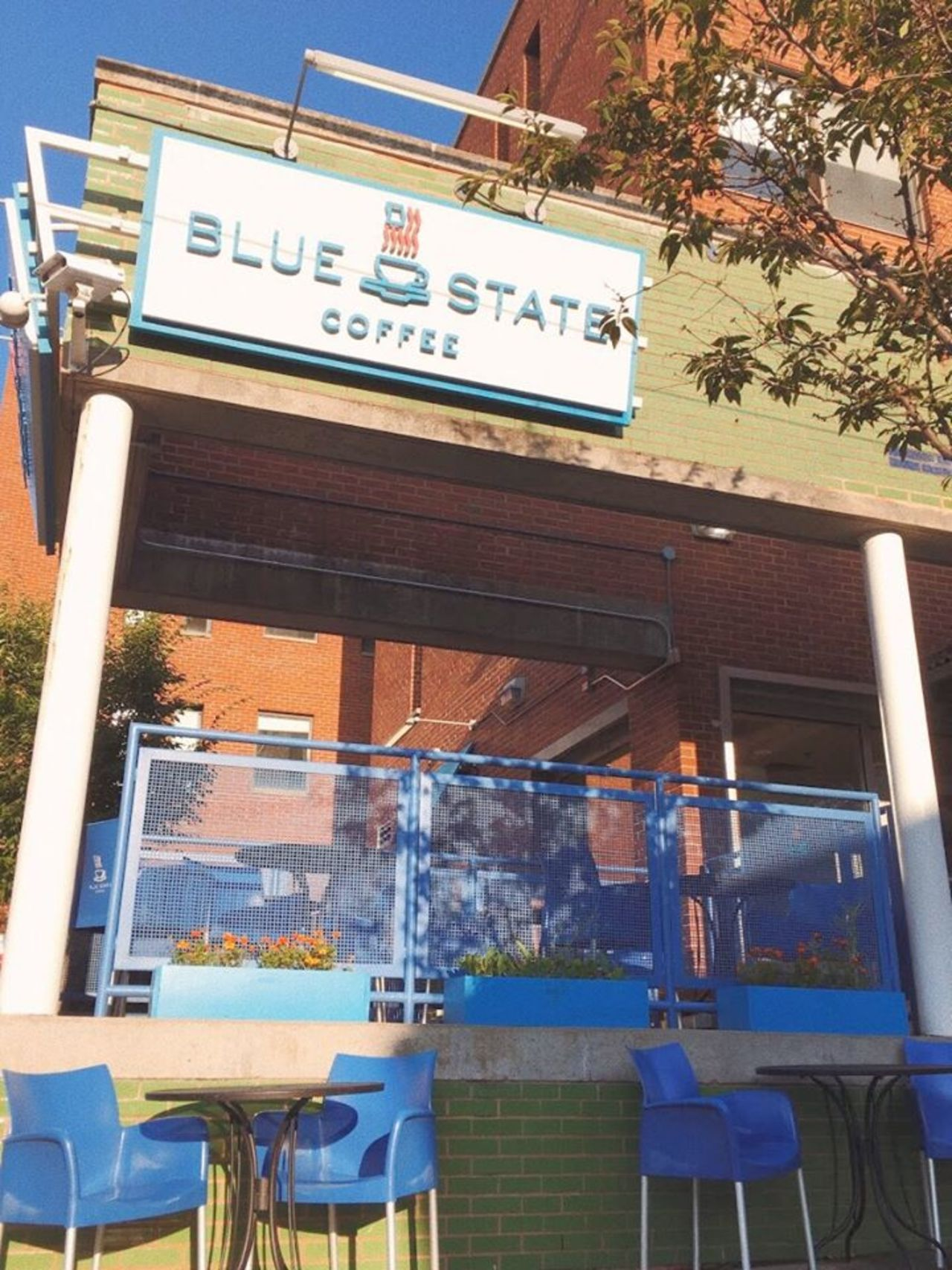 A photo of Blue State Coffee, Seaport Boulevard