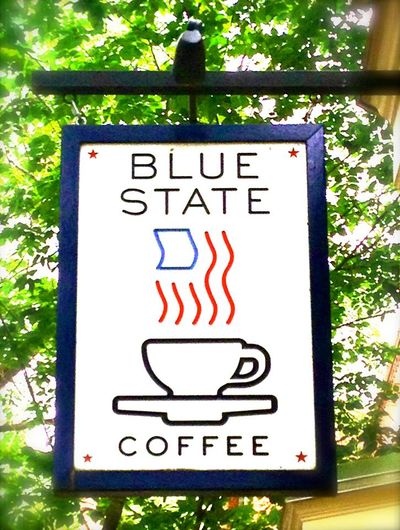 A photo of Blue State Coffee, Commonwealth Avenue