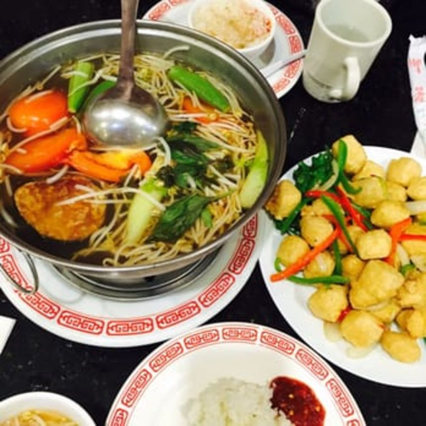A photo of Quan Yin Vegetarian Restaurant
