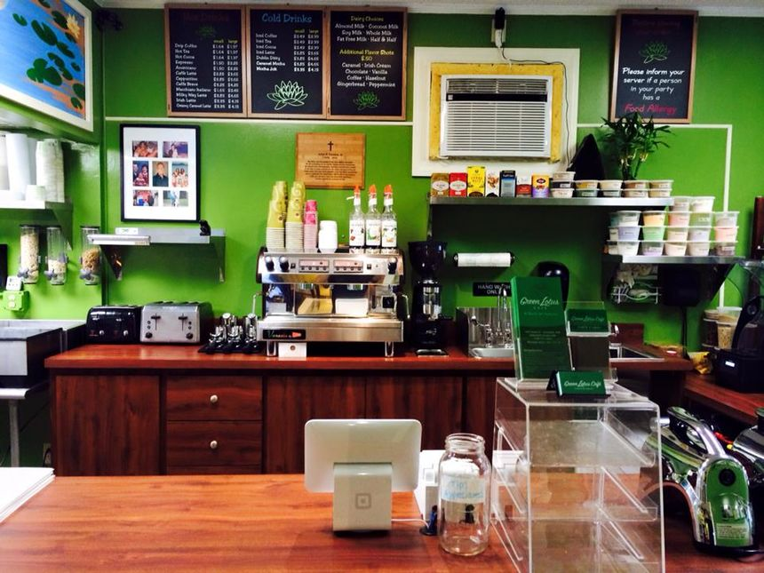 A photo of Green Lotus Café