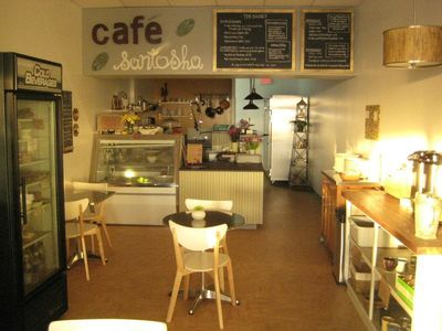 A photo of Cafe Santosha