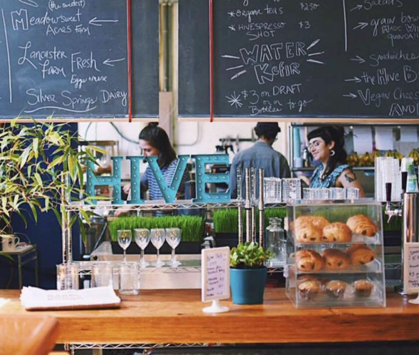 A photo of HIVE Cafe