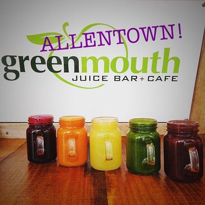 A photo of Greenmouth Juice Bar & Cafe, Allentown