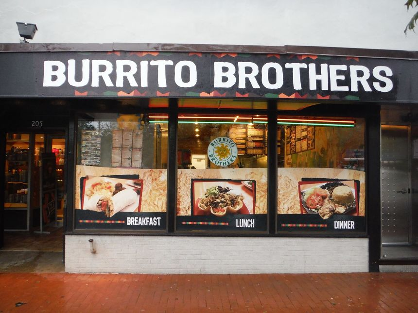 A photo of Burrito Brothers