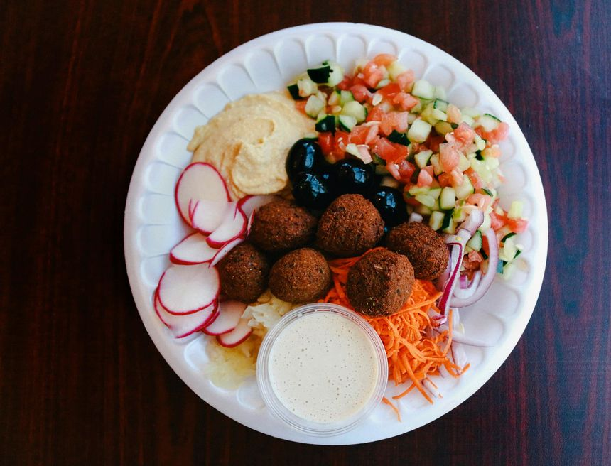 A photo of World of Falafel