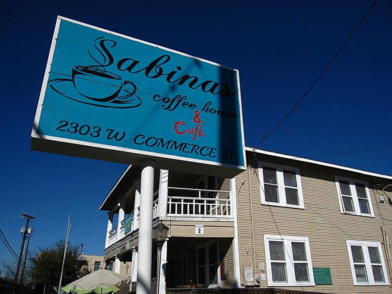 A photo of Sabinas Coffee House