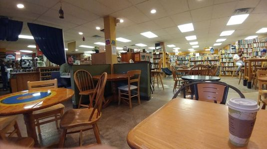 A photo of Webster's Bookstore Café