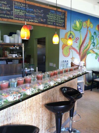 A photo of Glow Live Food Cafe