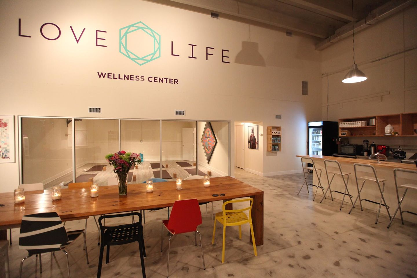 A photo of Love Life Wellness Center Café