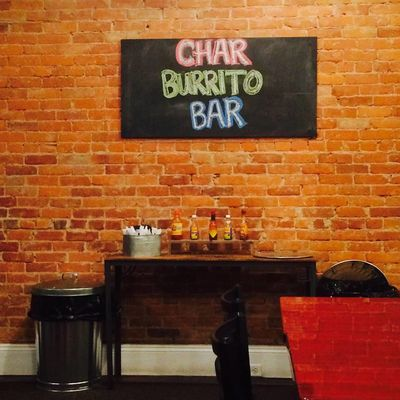 A photo of Char Burrito Bar