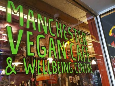 A photo of Manchester Vegan Café and Wellbeing Centre