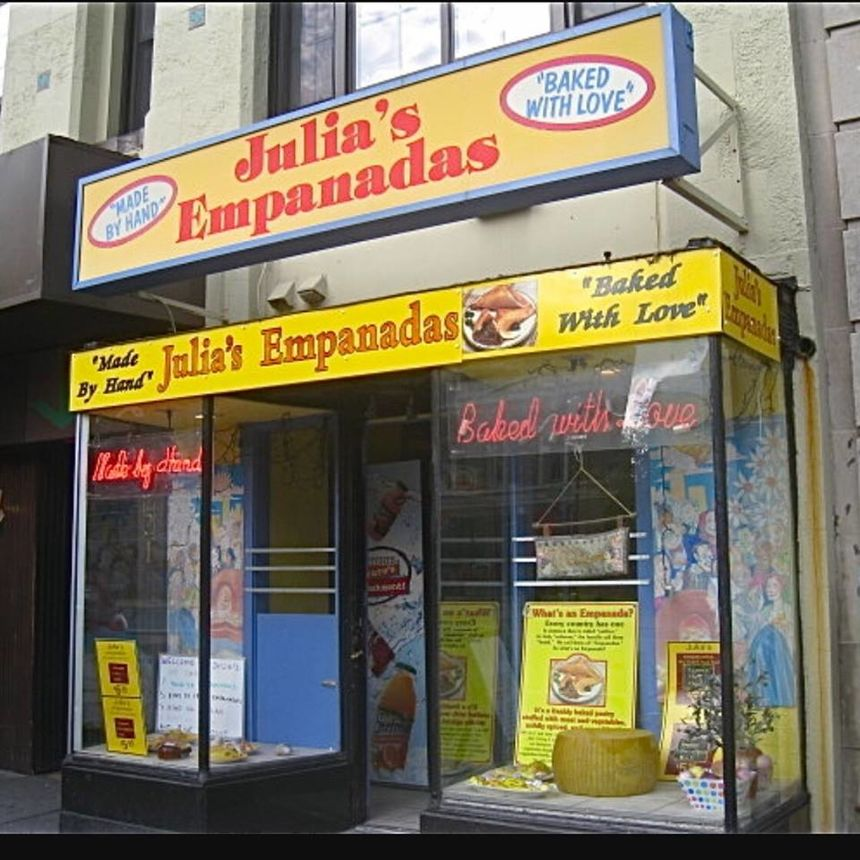 A photo of Julia's Empanadas, Dupont Circle
