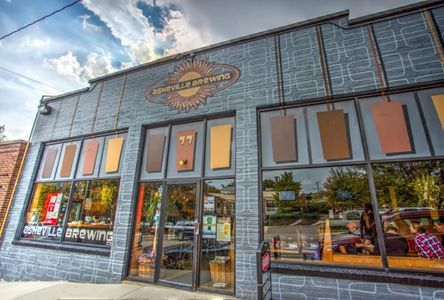 A photo of Asheville Pizza & Brewing