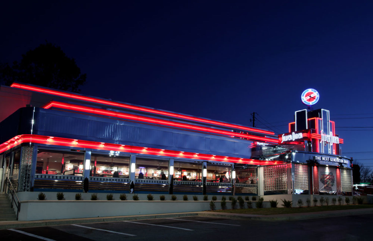 A photo of Silver Diner, Rockville