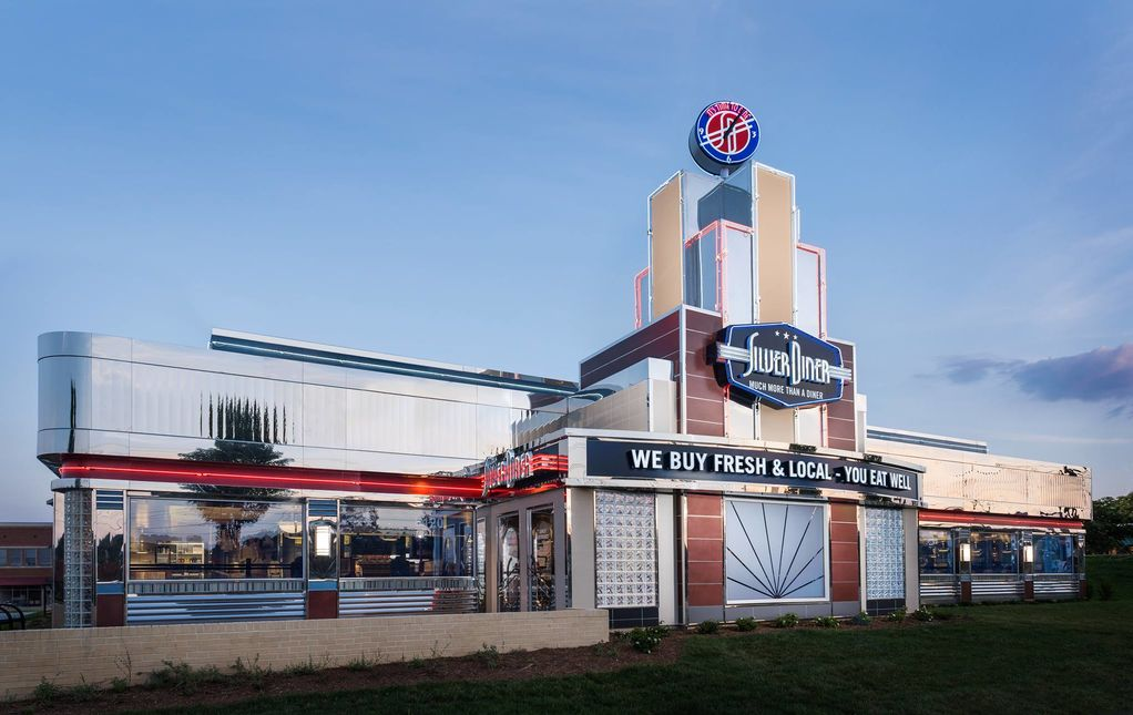 A photo of Silver Diner, Frederick