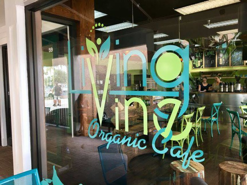 Living Vine Organic Cafe, Downtown Fort Myers
